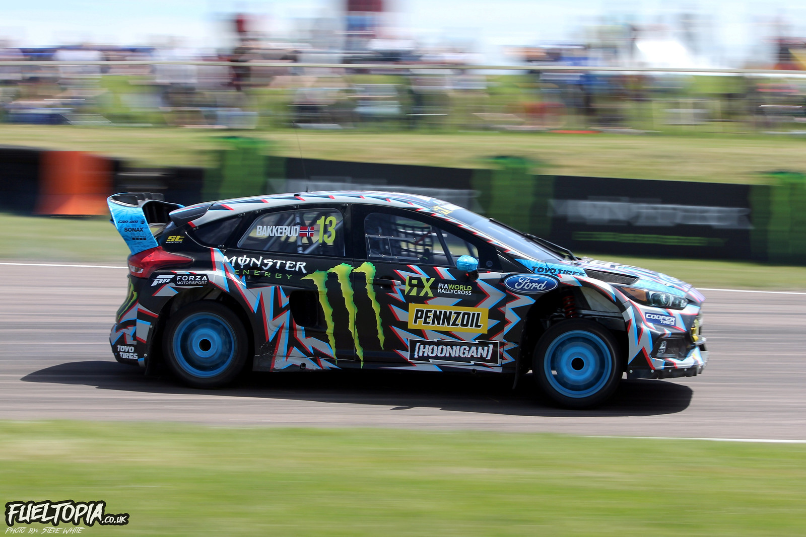 Bakkerud Lydden Hill North Bend Exit Pan