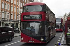 Wrightbus NRM NBFL - LTZ 1187 - LT187 - Clapton Pond 38 - Arriva - London 2017 - Steven Gray - IMG_9083