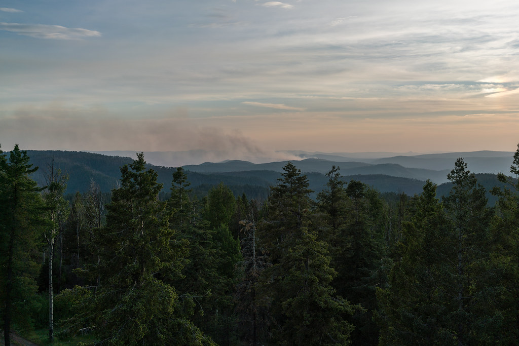 1706 Smoke from the Slim Fire from the Reno Lookout | Flickr