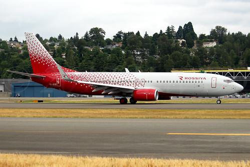 Boeing 737-8LJ(WL) Rossiya Airlines VP-BOB LN6455
