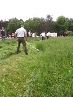 Learn to scythe at Beamish Museum