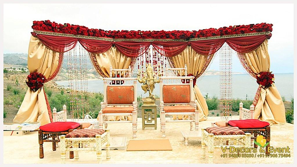 Latest Wedding Decorations In Villupuram V Decors And Even