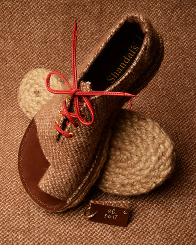 Alpaca Rope Soled Slippers | by Alan James Raddon