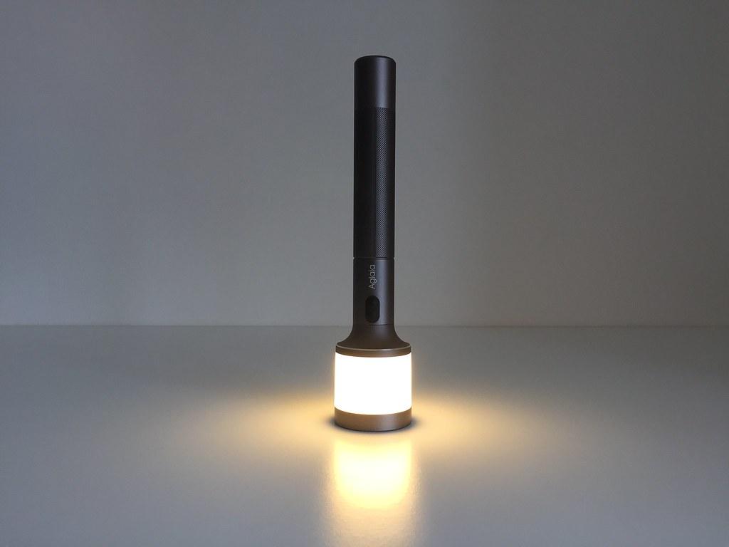 20170628 Test lampe de poche veilleuse Aglaia 3