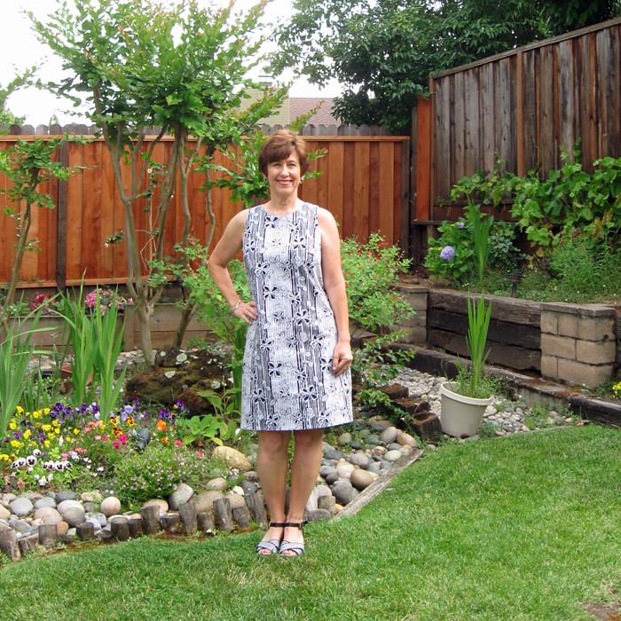batik dress front 2