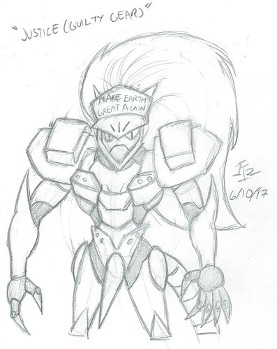 Justice Sketch (Make Earth Great Again)
