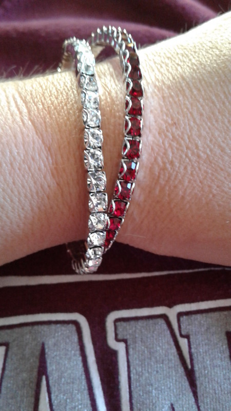 Birthstone Bracelets school colors (1)
