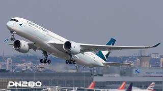 Cathay Pacific A350-941 msn 119