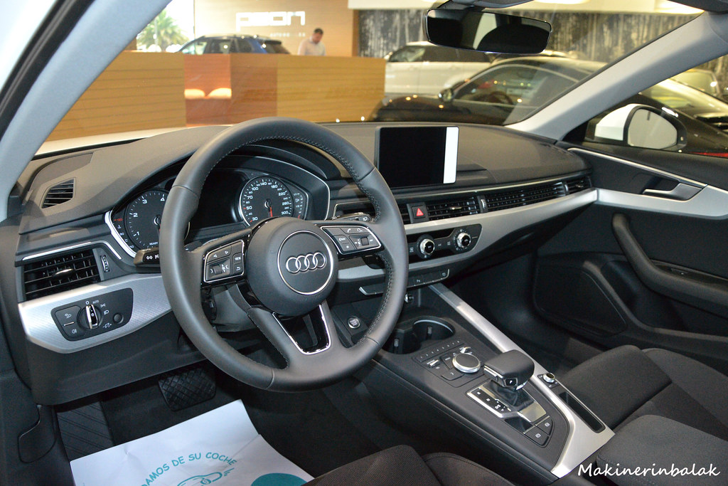 Interior Audi A4 avant | Makinerin Balak | Flickr
