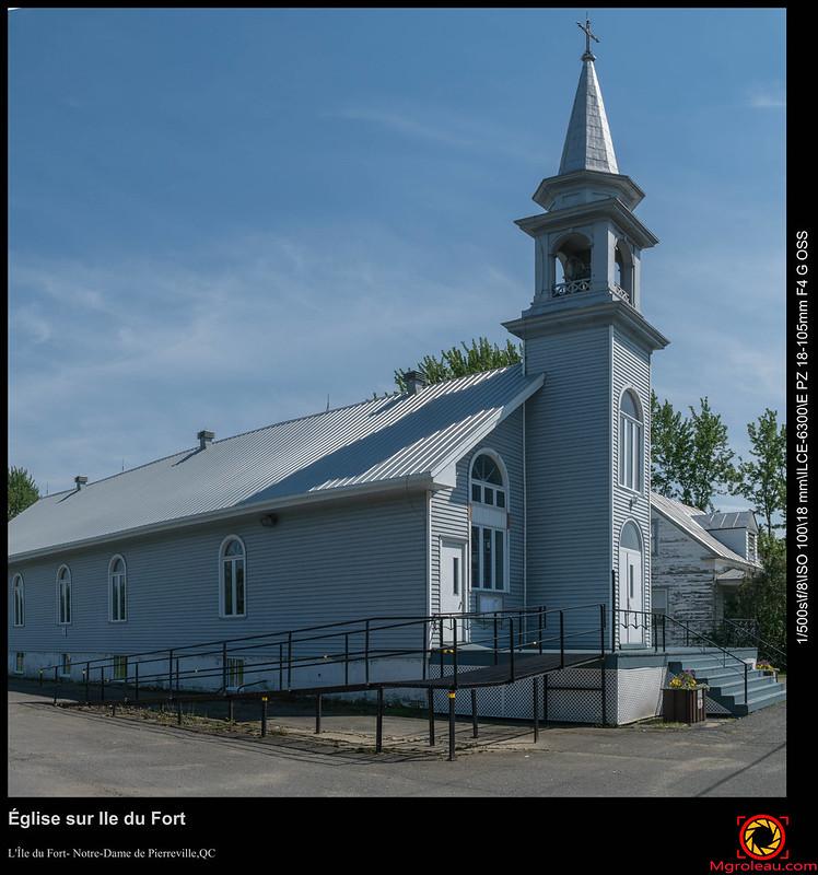 Église sur Ile du Fort