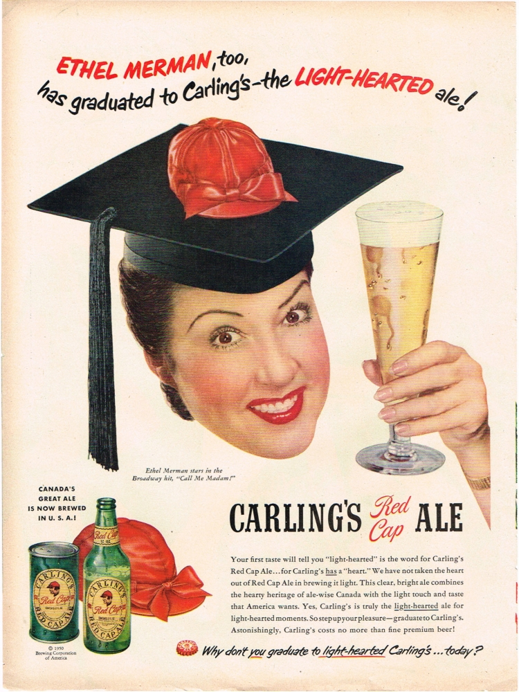 Carling-1950-ethel-merman