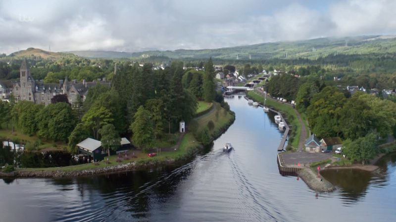 Lochnafoy town