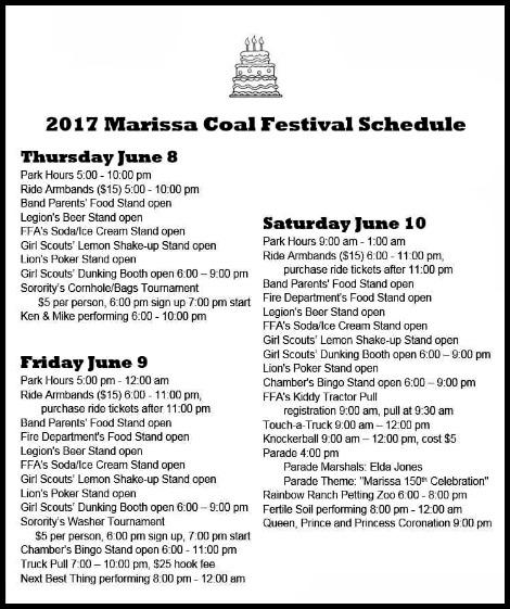 Marissa Coal Festival 2017