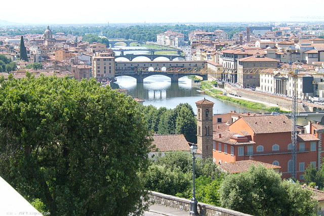 Arno und Brücken