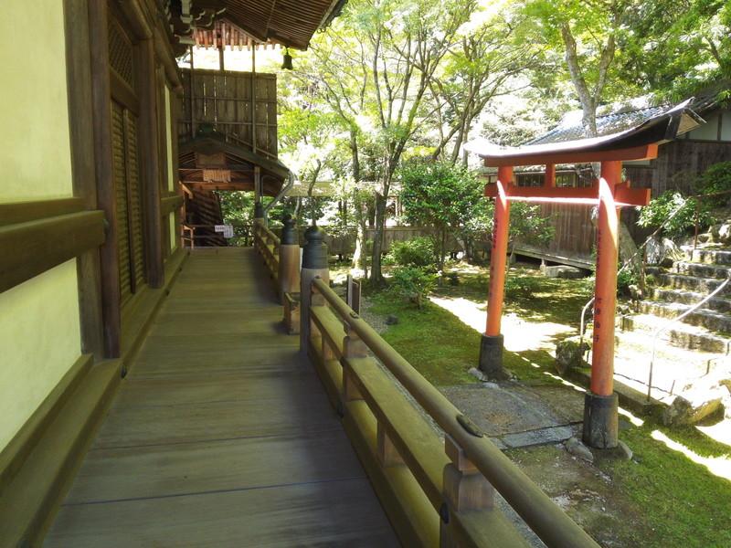 柳谷観音の奥の院 楊谷寺