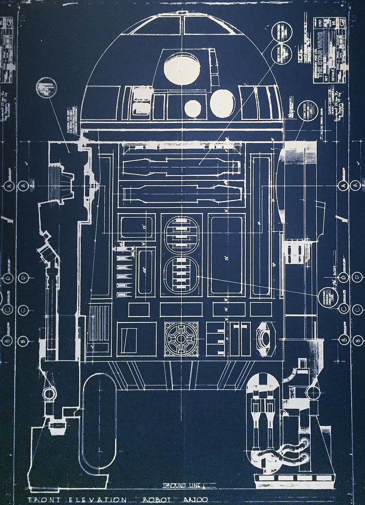 R2-D2 Blueprint | JoAnn | Flickr