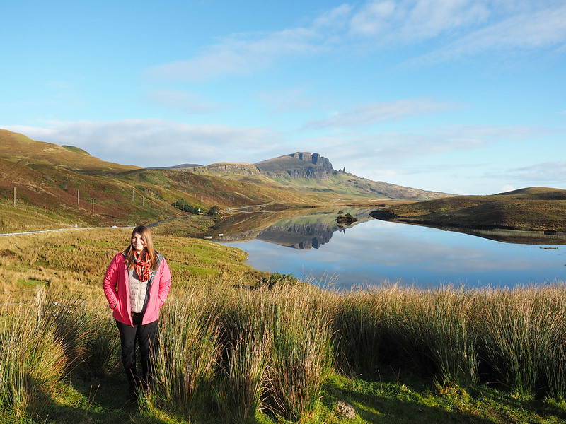 Amanda on the Isle of Skye