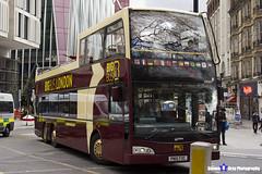 Volvo B9TL Optare Visionaire - PN10 FOC - DA321 - Big Bus London - London 2017 - Steven Gray - IMG_9189