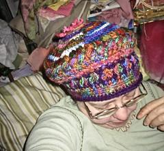 side of beret