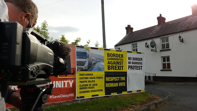 Insiders: filming on the Irish border