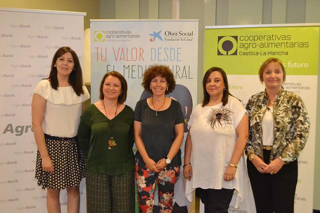 Mujeres cooperativistas CLM