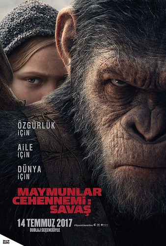 Maymunlar Cehennemi: Savaş - War For The Planet of the Apes (2017)
