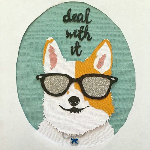 Papercut Pet Portrait customized by Kathryn Willis