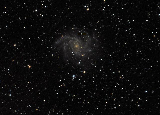 VCSE - NGC 6946 és SN 2017eaw, 2017. május 28/29. - Ágoston Zsolt, Csizmadia Szilárd