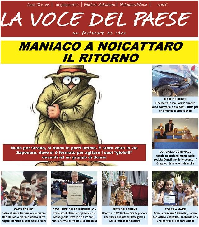 Noicattaro. Prima pagina n.22-2017 intero