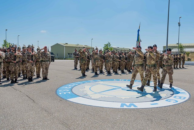 MNBG-West marked Change of Command