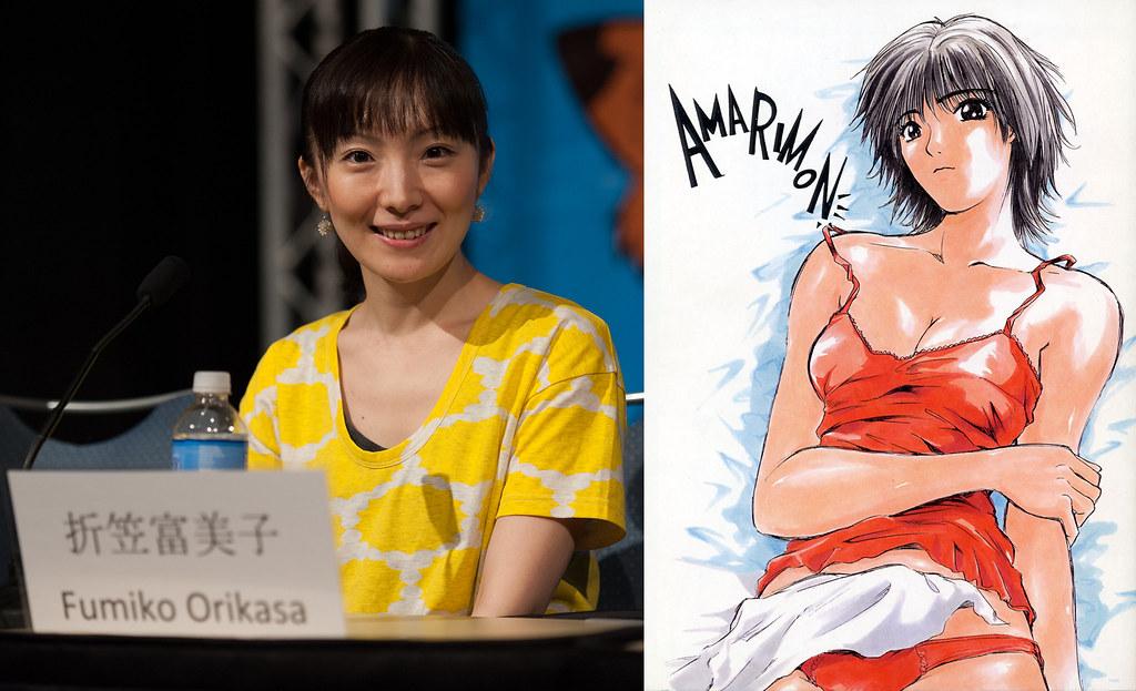 170612(1) -《聲優道》長篇專訪「折笠富美子」第1回:從高中體育10分到配音處女作《麻辣教師GTO》冬月梓!