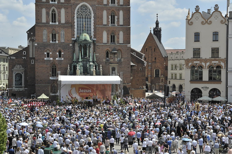 Uroczystość Bożego Ciała, Kraków, 15 VI 2017