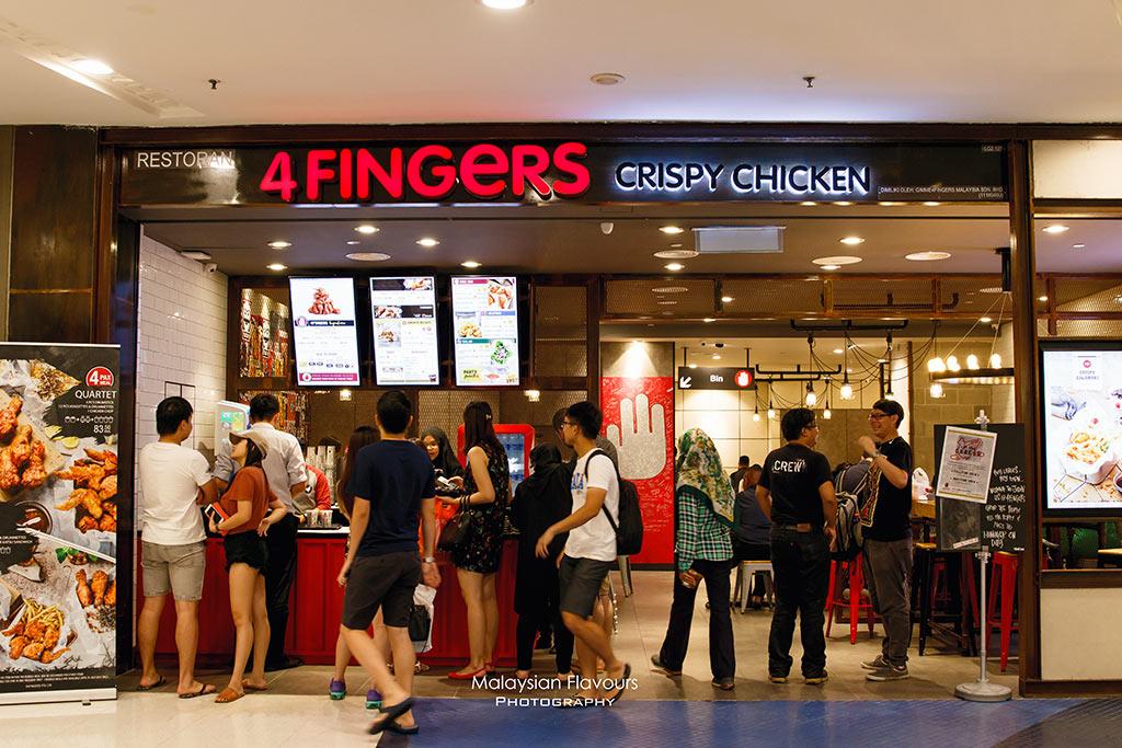 4 Fingers Crispy Chicken Malaysia