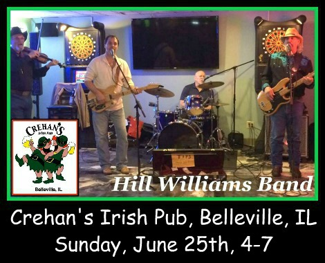 Hill Williams Band 6-25-17