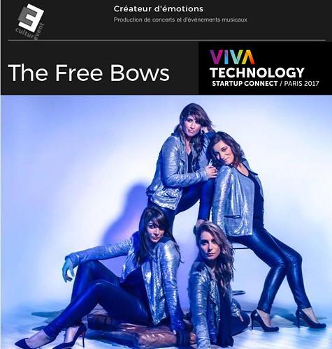 Culturevent présente The free Bows à Vivatech