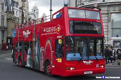 Volvo B7TL Plaxton President - Y182 NLK - City Tour London - London 2017 - Steven Gray - IMG_8987