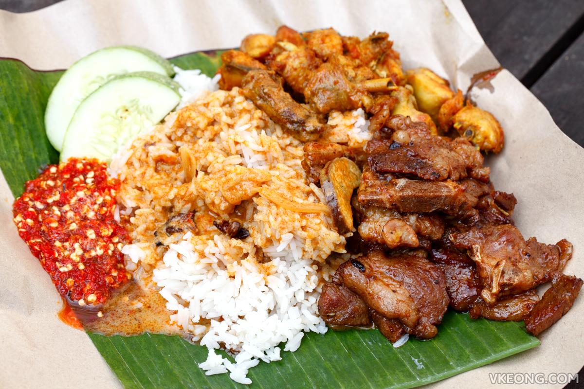 Warung Soho Nasi Kak Wok Kambing Bakar