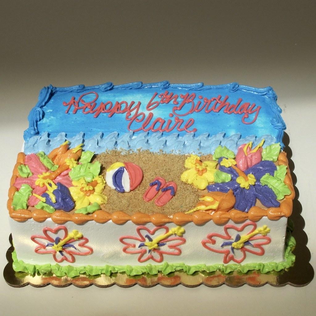 Tropical Birthday Cake 300551 Creative Cakes Tinley Park Flickr