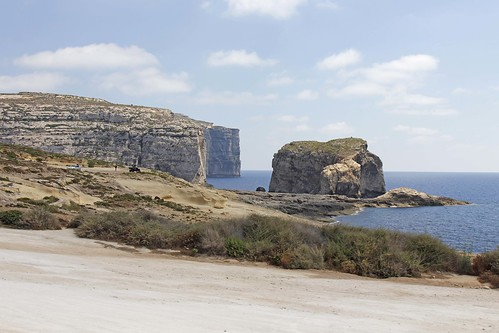 Dwejra, Gozo for lunch