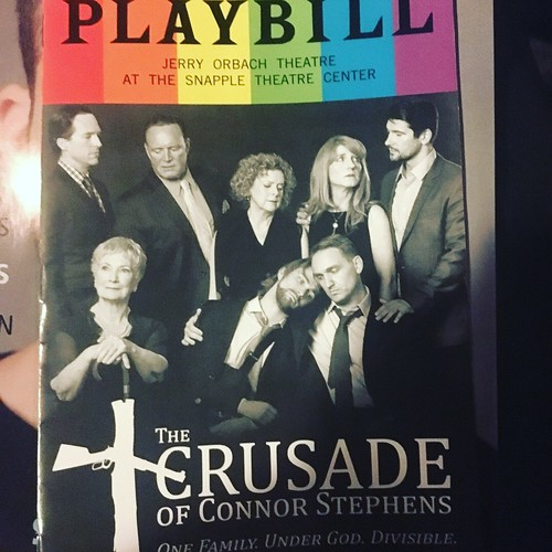 Opening night of The Crusade of Connor Stephens