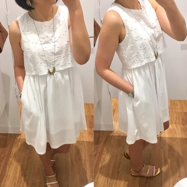 Uniqlo Girl's Lace Sleeveless Dress, size 13