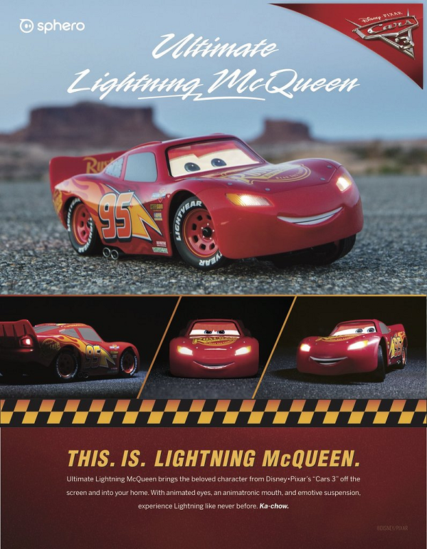 【動画】Sphero「Ultimate Lightning McQueen」