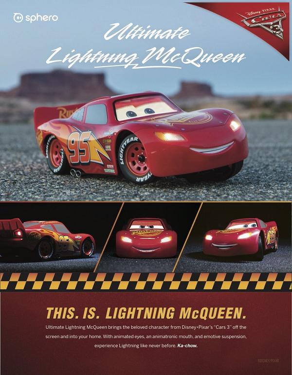 【動画】Sphero「Ultimate Lightning McQueen」