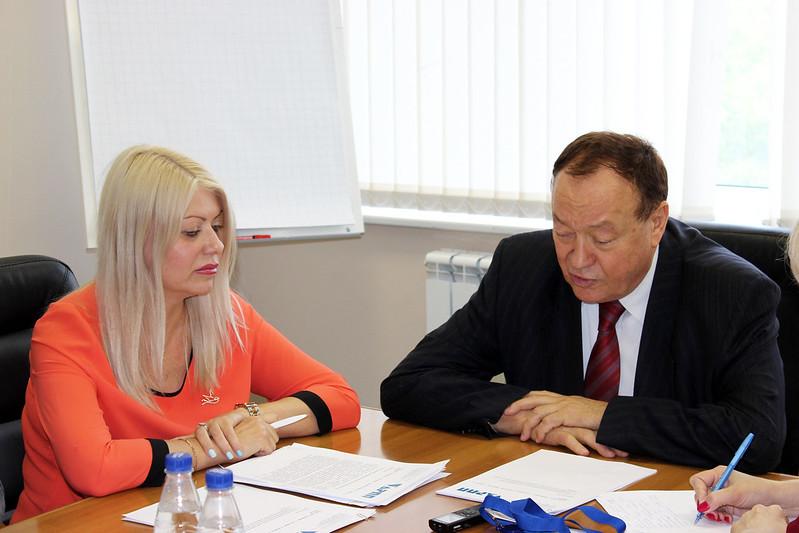 Алла Игнатьева «Пресса Москвы» и Александр Оськин АРПП