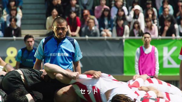 「BINGO5」新CM「ラグビー試合中!」篇