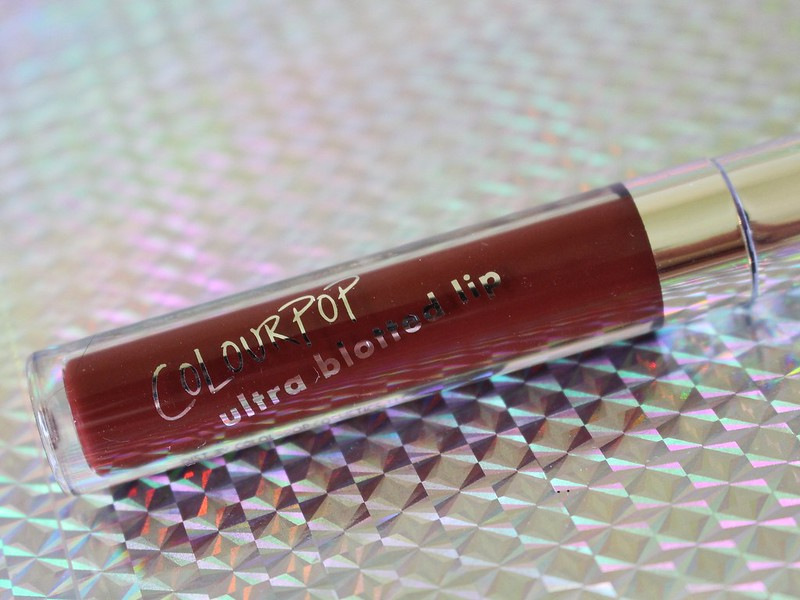 ColourPop Ultra Blotted Lip Cherry on Top