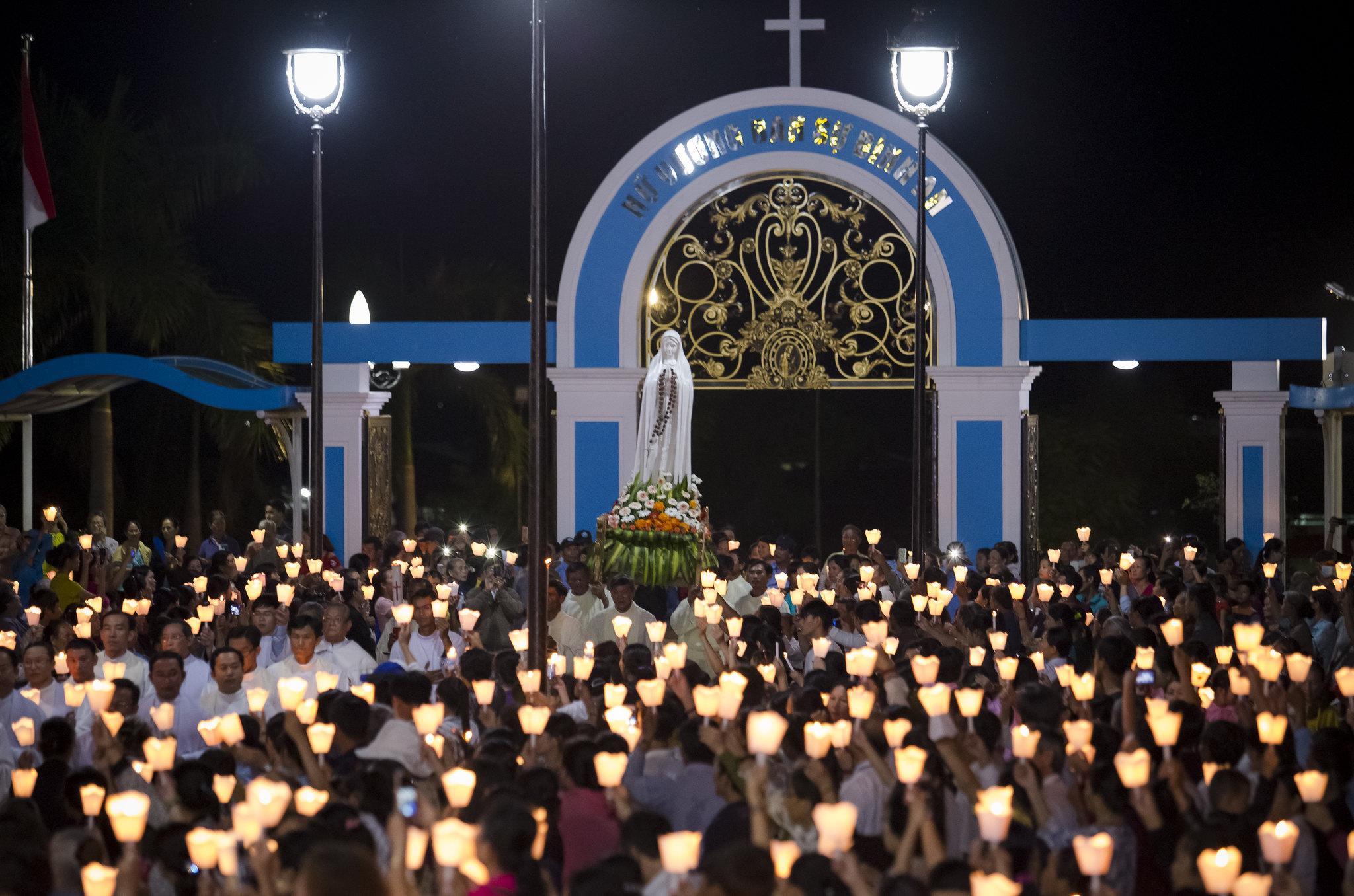 Đại hội Legio Marie Giáo phận Phan Thiết - Tại Trung Tâm Thánh Mẫu TàPao