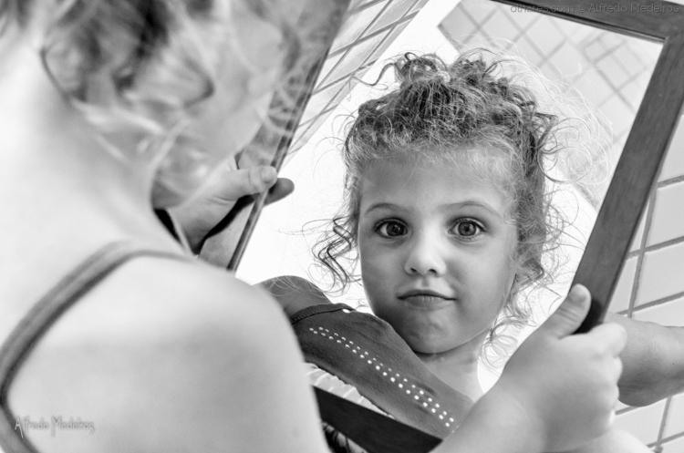 Fotografia em Palavras: Espelho