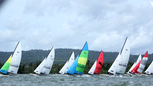 Final regatas Hobie Cat Festival GUA