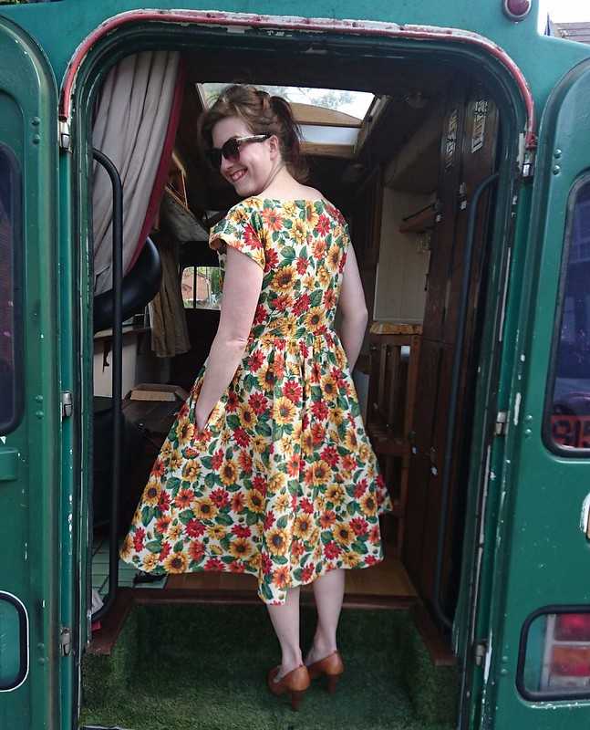 by hand london anna dress colette zinnia skirt